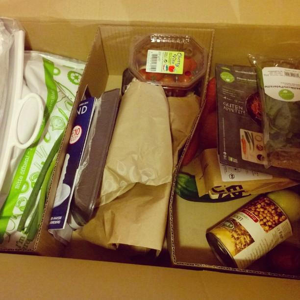 #HelloFresh Box diese Woche.#Linsen #Couscous #Tomaten #Champignons #frisch #geliefert #Reis