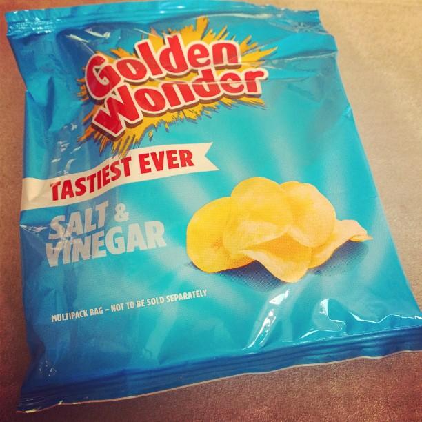 Wenn man englischen Besuch hatte.... :-)#SaltandVinegar #Chips #crisps
