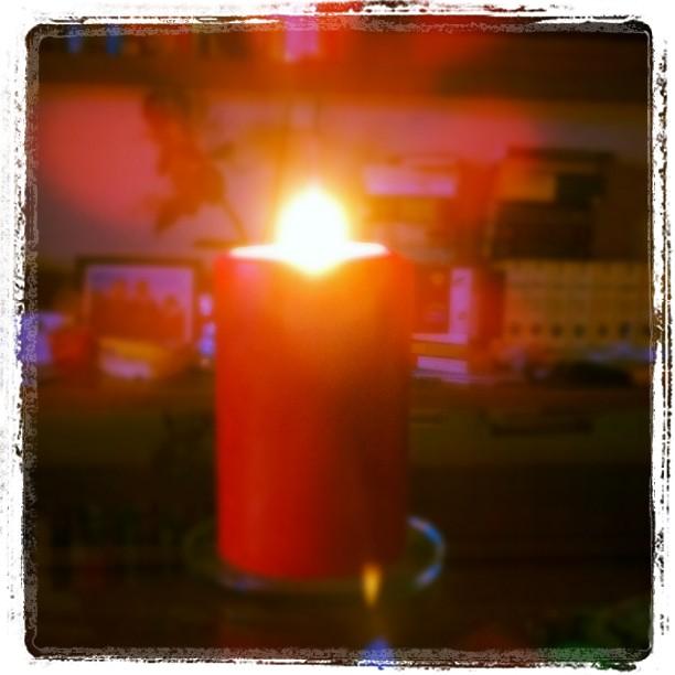 Es ist wieder die Zeit des Jahres....#Kerze #Herbst #herbstlich #Licht