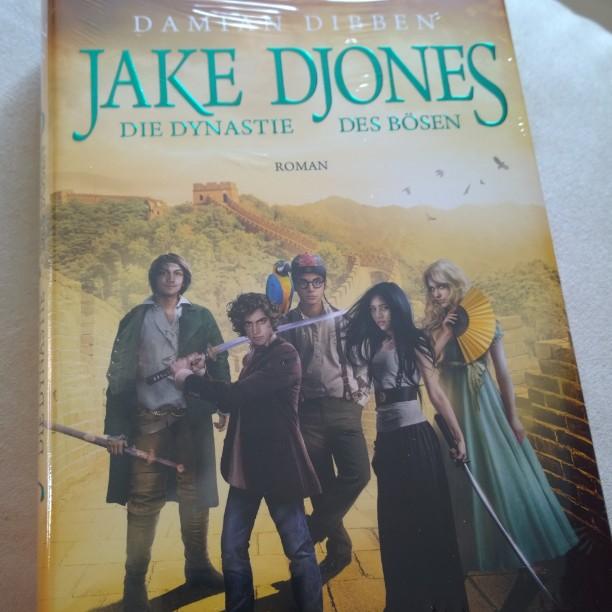 Der neue Jake Djones ist da ! :-)#DamianDibben #book #Buch #neu #Dibben #JakeDjones #DynastiedesBoesen #Penhaligon