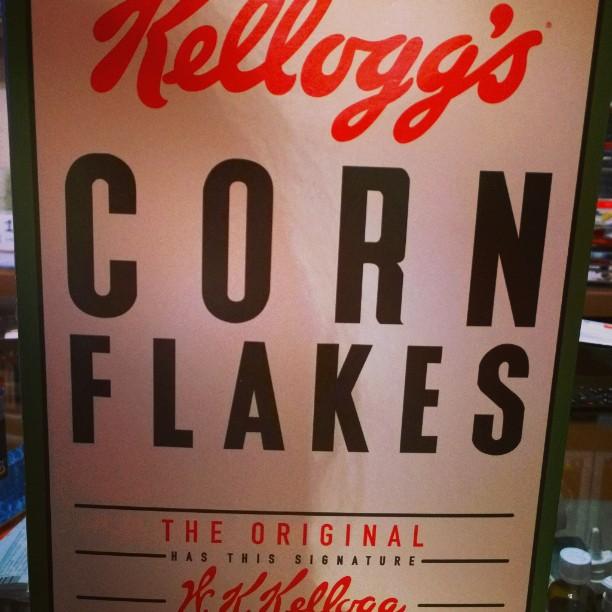 Coole Kelloggs Packung !#oldschool #Kelloggs #Cornflakes #retro